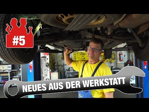 Die Autodoktoren - Neues aus der Werkstatt #5 - Bremsflüssigkeit / VW T5 / Skoda Roomster