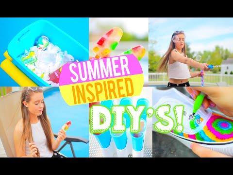DIY לקיץ - יצירה לקיץ