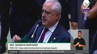 Odorico Monteiro se pronuncia em defesa do setor pesqueiro artesanal na Frente Parlamentar da Pesca