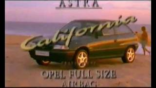 Opel Astra F California Commercial 1994