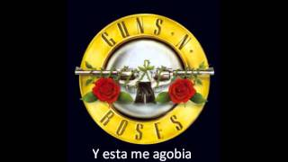 Guns N´ Roses- Since I Dont Have You (Subtitulada al españos) mp3