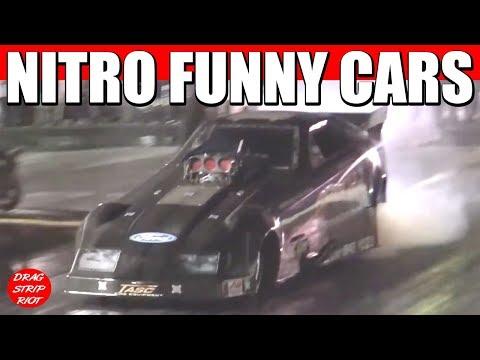 Funny Car Nationals Nostalgia Drag Racing New England Dragway 2011