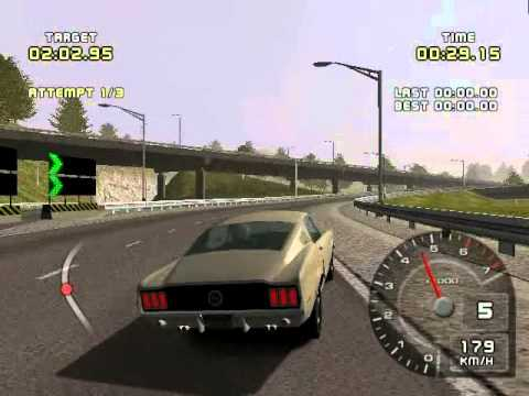 ford racing 2 for pc with my car : ford mustang 68'