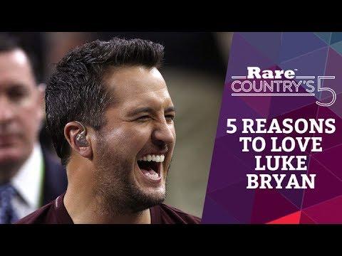 5 Reasons to Love Luke Bryan | Rare Country's 5