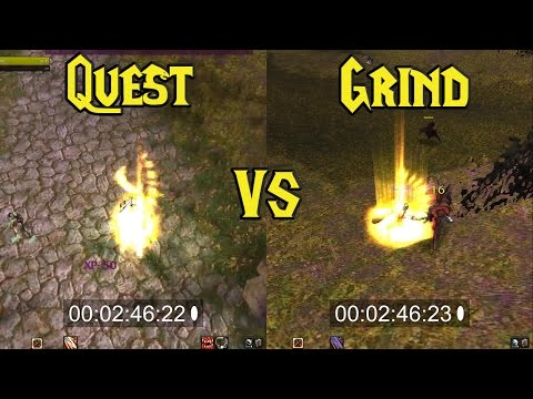 Wow Vanilla: Grind or Quest starting zone