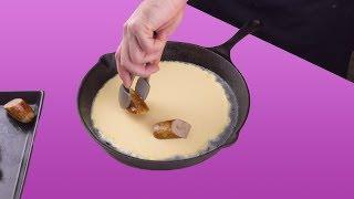 Englische Pfannkuchen sind eine Teller-Revolution und vollkommen anders!