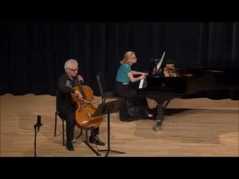 Yosif Feigelson & Lydia Artymiw playing Prokofiev
