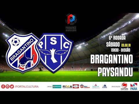 Bragantino x Paysandu - #CulturaNoBanparazão - 23.02.19