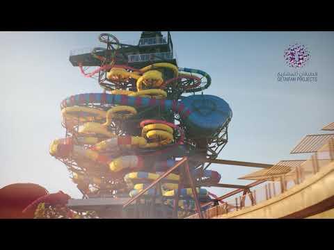 Qetaifan Island North – First Entertainment Island In Qatar قطيفان الشمالية أول جزيرة ترفيهية في قطر