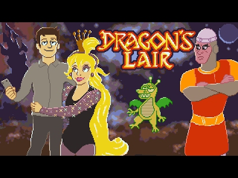 Dragon's Lair (NES) Full Playthrough w/ Mike Matei