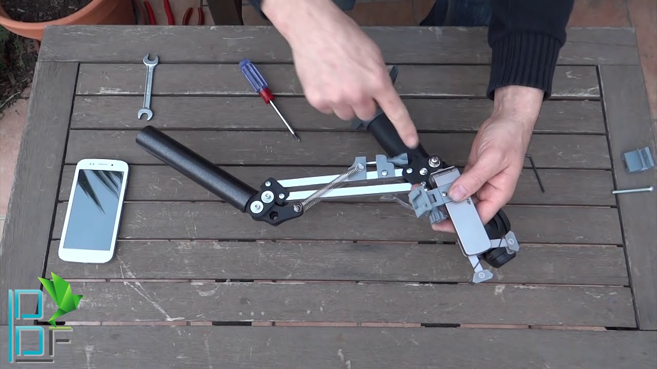 My Diy 4th Axis For Osmo Dji Forum