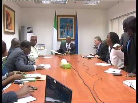European Union Observer Signs MoU With Nigeria Government ON 2015 Election