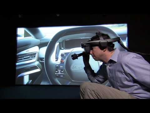 GT in Ford's Immersive Environment Lab FiVE | AutoMotoTV