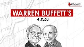 3 TIP: Warren Buffett's Investing Rules