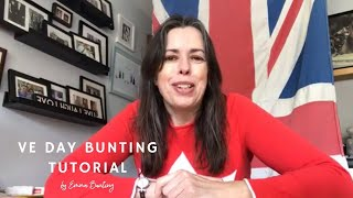 VE Day 75 Bunting Tutorial