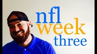 Nfl week 3 football picks & predictions for early games | vegas lines & odds preview | 2017 analysis