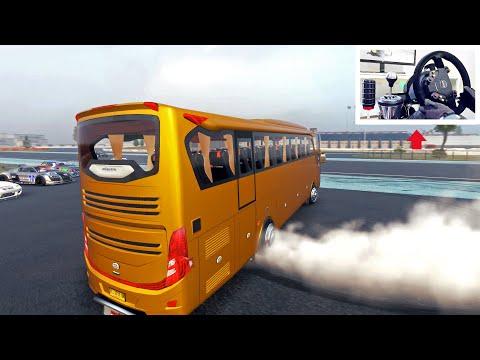 Drifting A Bus In Car X Drift Racing! - (w/Steering Wheel Setup) Steam Workshop PC Mod
