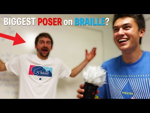 BRAILLE TEAM takes the POSER TEST