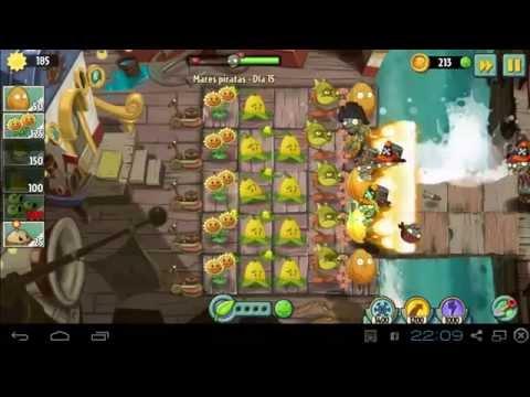 Plantas Vs Zombies 2 - Mares Piratas Día 15 Pc Bluestacks