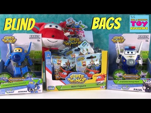 Thumbnail: Super Wings Series 1 Blind Bag Figures Opening Paul Jerome Jett | PSToyReviews