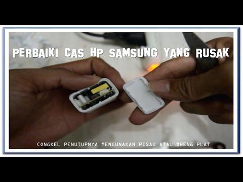 Memperbaiki Charger Cas Samsung Dengan Alat Seadanya Youtube