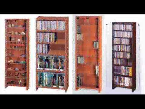 Muebles archivadores y estanterias para CD DVD  YouTube