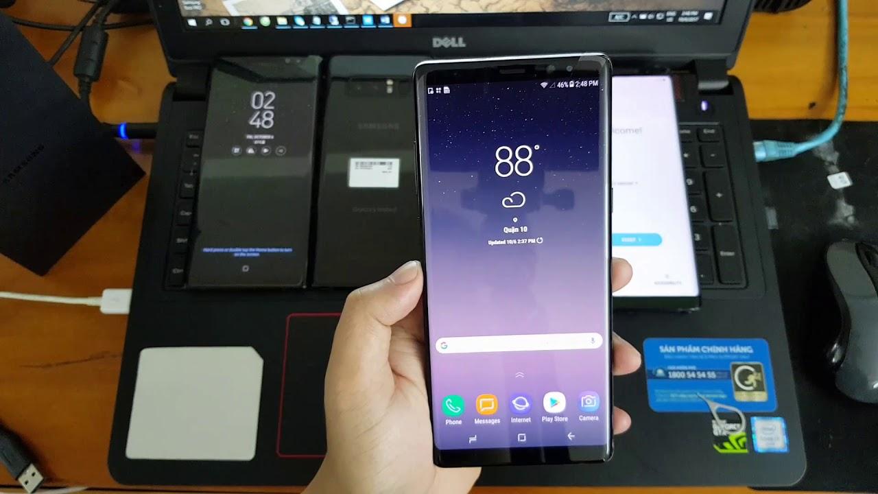 Unlock Simcard Samsung Galaxy Note 8 N950U Sprint Instant