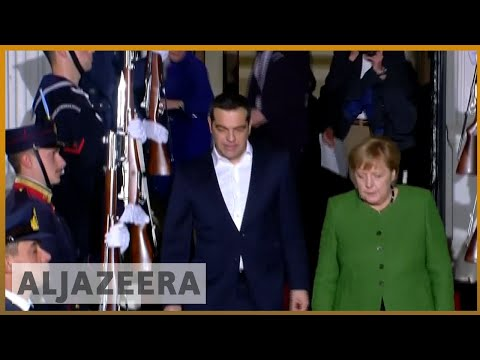 🇩🇪 🇬🇷 Merkel visits Greece in show of 'EU solidarity' amid protests | Al Jazeera English