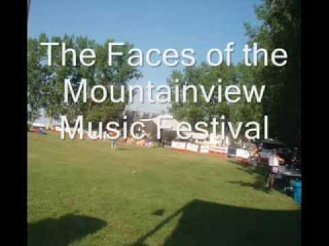 The Faces of the Mountainview Music Festival