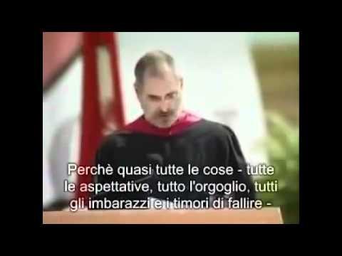 Steve Jobs Stay Hungry Stay foolish discorso all'univeristà di Standford del fondatore della Apple