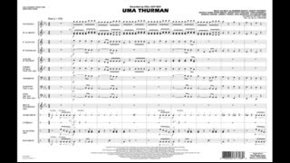 Uma Thurman arranged by Michael Oare & K.J. Stafford
