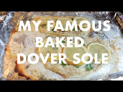 My Famous Baked Dover Sole