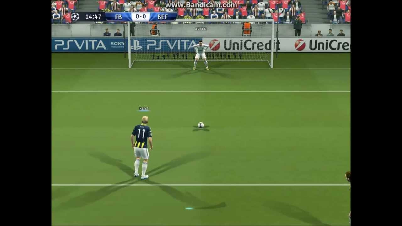 Kuyt Benfica Penaltı Gol HD 1080P Ercan taner Sesi ile - YouTube