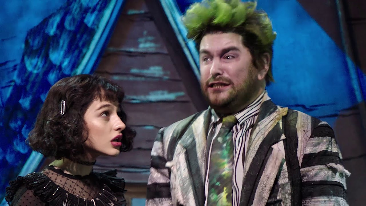 A Jaw Dropping Funhouse Beetlejuice The Musical Youtube