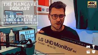 The Best 4K UHD Monitor for PS4 Pro? | LG UL600 Unbox and Review
