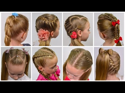 8-braided-back-to-school-heatless-hairstyles!-(little-girls-hairstyles-#28)-littlegirlhair