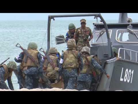 first ever marines of srilanka navy passout in mullikulam