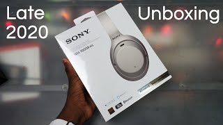 Sony WH-1000XM3 (Silver) | Unboxing & First Look