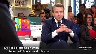 Retraites, chômage, travail : Emmanuel Macron s'explique