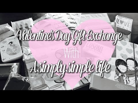 Valentine's Day Gift Exchange With A Simply Simple Life