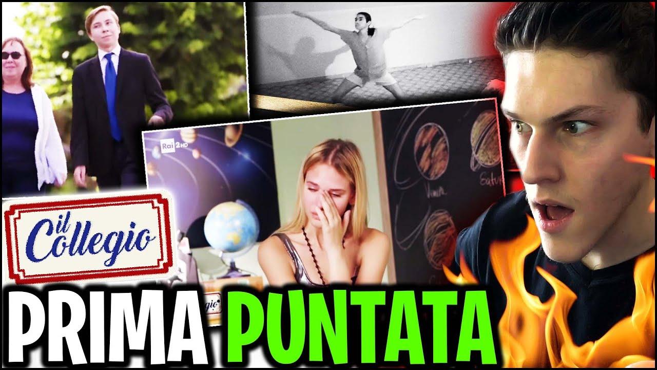 Download IL COLLEGIO 5 : LA PRIMA PUNTATA! IL RIASSUNTO! *REAZIONE SPONTANEA* puntata 1