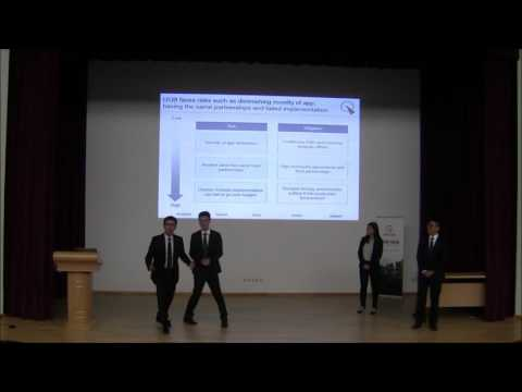 UOB-NUS International Case Competition 2016 Finals: University of Southern California