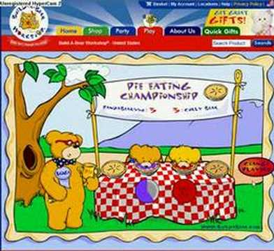 Build A Bear Pie Game