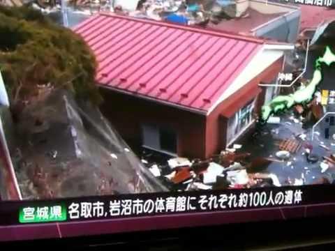 Tsunami in Miyagi Prefecture