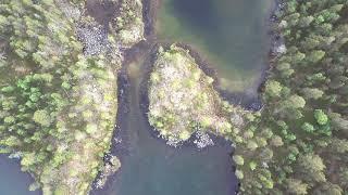Lake Inari top north, far east