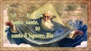 Santo, santo - Stefano Linzi ( testo+accordi)