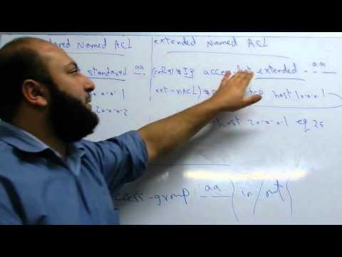 CCNA Extended Access List Ahmed Abdallah