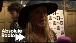 Meg Matthews talks to Absolute Radio at our exclusive Lenny Kravitz gig