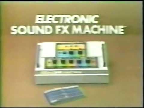 Remco Sound FX Machine Commercial