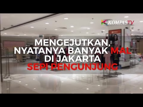 Wah, Banyak Mal di Jakarta Sepi Pengunjung
